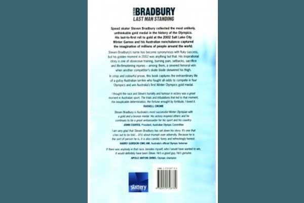 Steven Bradbury Gold Medalist